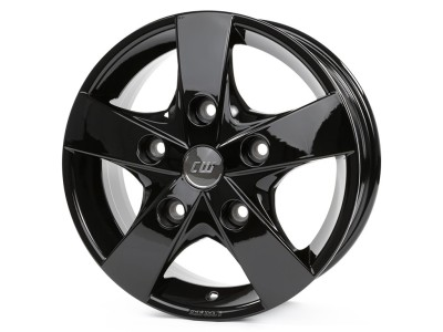 Borbet Commercial CWF Black Glossy Wheel
