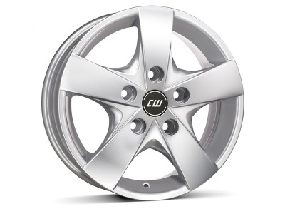 Borbet Commercial CWF Crystal Silver Wheel
