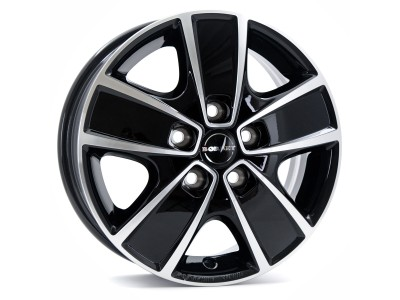Borbet Commercial CWG Black Polished Wheel