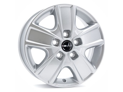 Borbet Commercial CWG Crystal Silver Wheel
