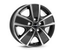 Borbet Commercial CWG Mistral Anthracite Glossy Polished Wheel