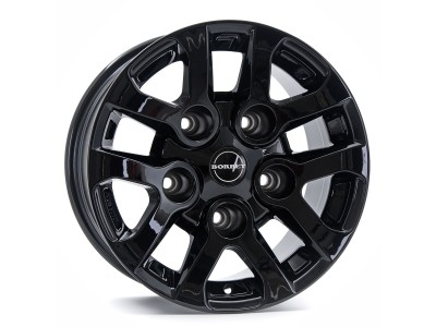 Borbet Commercial LD Black Glossy Wheel