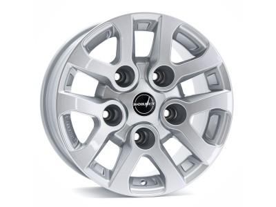 Borbet Commercial LD Silver Felge