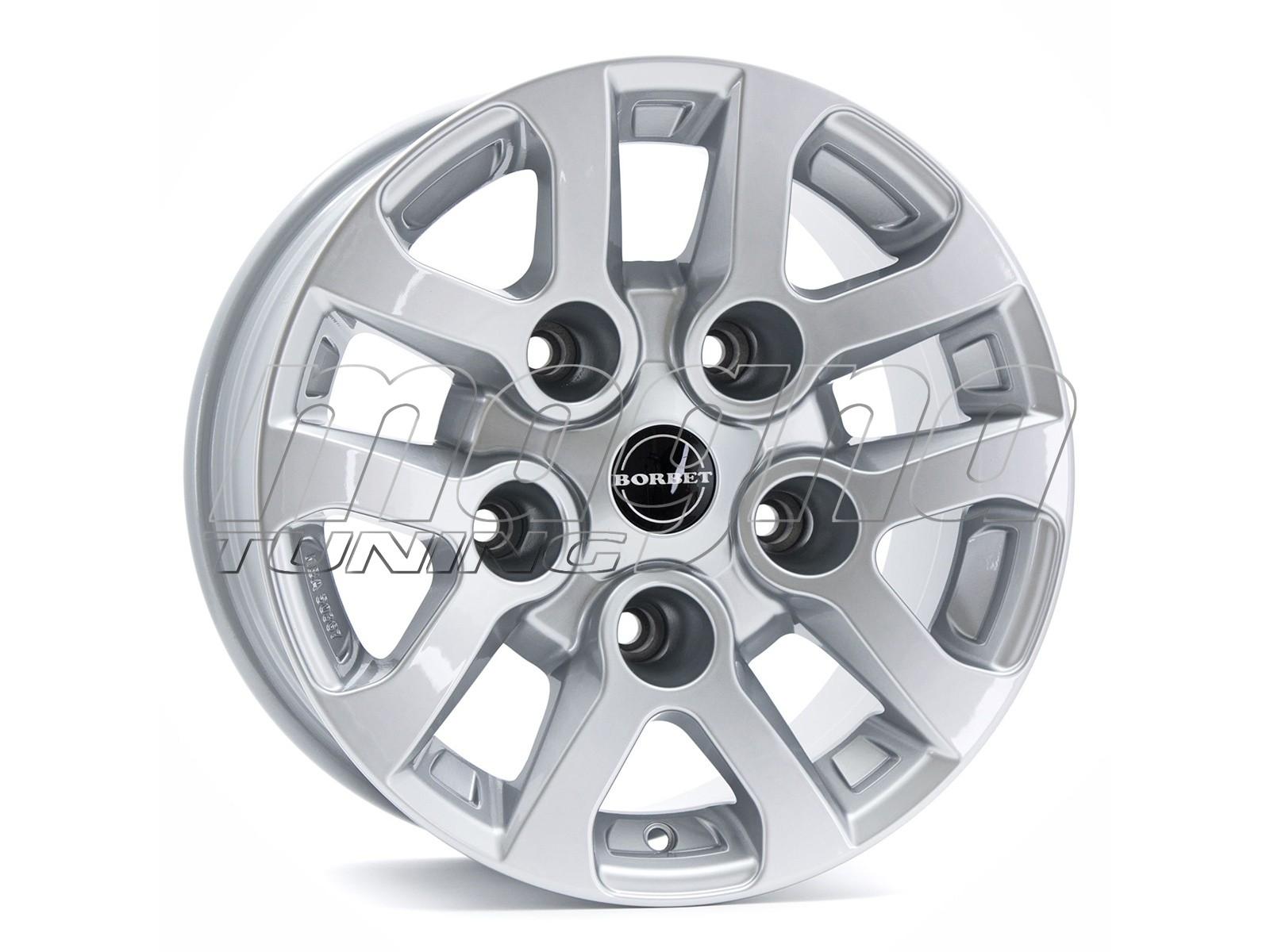 Borbet Commercial LD Silver Wheel