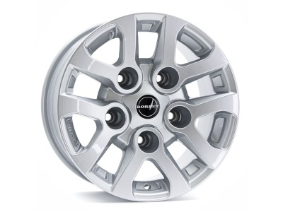 Borbet Commercial LD Silver Wheel