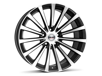 Borbet Premium BLX Black Polished Matt Wheel