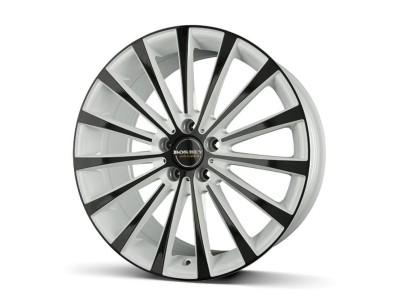 Borbet Premium BLX White Black Glossy Felge