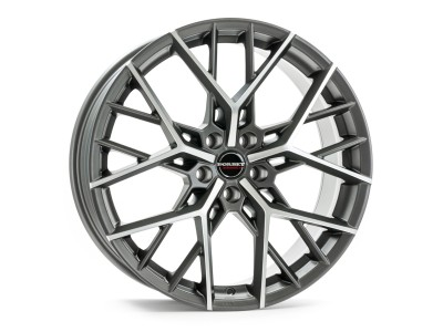 Borbet Premium BY Titan Polished Matt Wheel