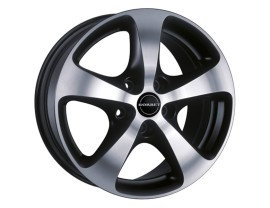 Borbet Premium CC Black Polished Felge