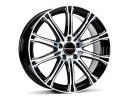 Borbet Premium CW1 Black Polished Wheel