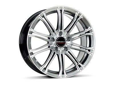 Borbet Premium CW1 Hyper Silver Felge