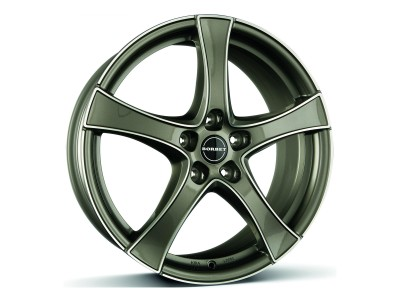 Borbet Premium F2 Graphite Polished Wheel
