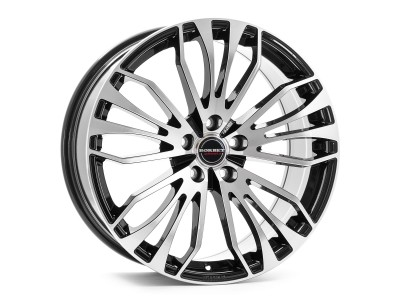 Borbet Premium RB Black Polished Wheel