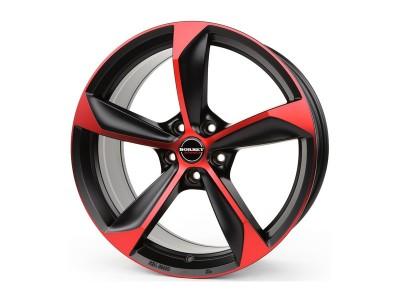 Borbet Premium S Black Red Matt Wheel