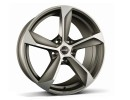 Borbet Premium S Graphite Polished Wheel