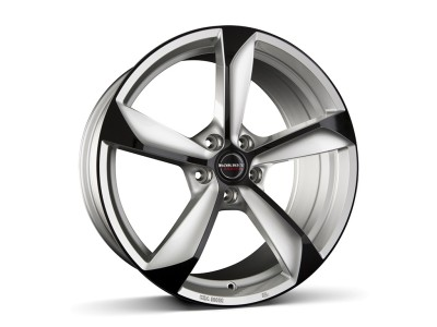 Borbet Premium S Janta Silver Black Glossy
