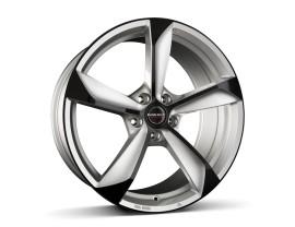 Borbet Premium S Silver Black Glossy Felge