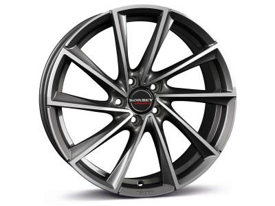 Borbet Premium VTX Graphite Polished Wheel