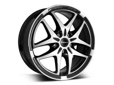 Borbet Premium XB Black Polished Wheel