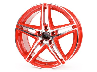 Borbet Premium XRT Janta Racetrack Red Polished