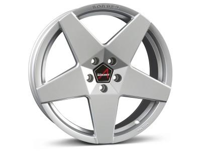 Borbet Sports A Brilliant Silver Wheel