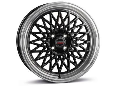 Borbet Sports B Black Rim Polished Wheel