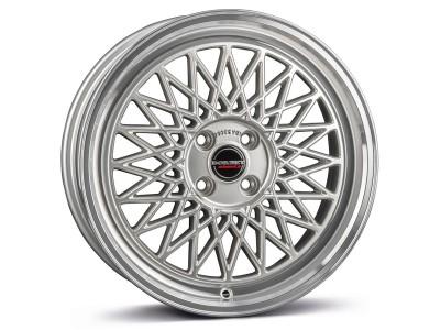 Borbet Sports B Silver Rim Polished Wheel