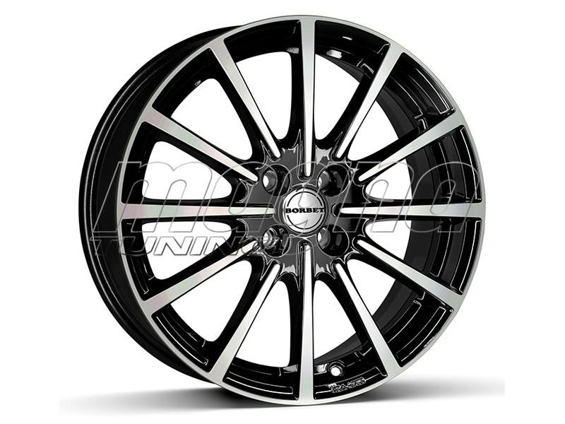 Borbet Sports BL4 Black Polished Glossy Felge