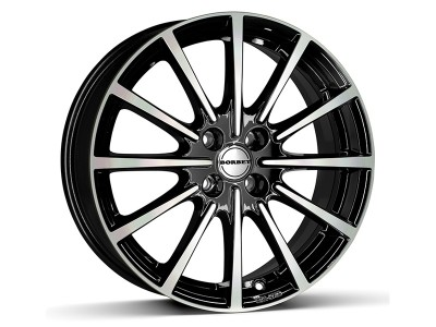 Borbet Sports BL4 Black Polished Glossy Felge