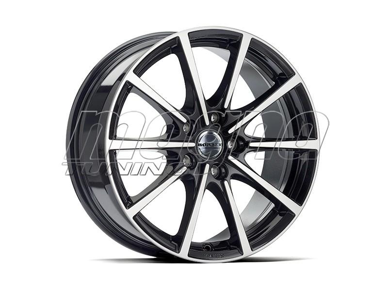 Borbet Sports BL5 Black Polished Glossy Felge