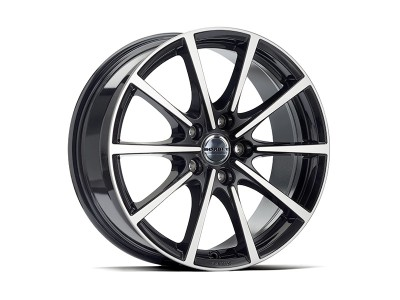 Borbet Sports BL5 Black Polished Glossy Wheel