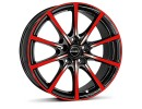 Borbet Sports BL5 Black Red Glossy Wheel