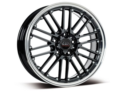 Borbet Sports CW2 Black Polished Felge