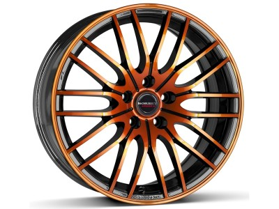 Borbet Sports CW4 Black Orange Felge