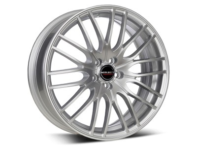 Borbet Sports CW4 Sterling Silver Wheel