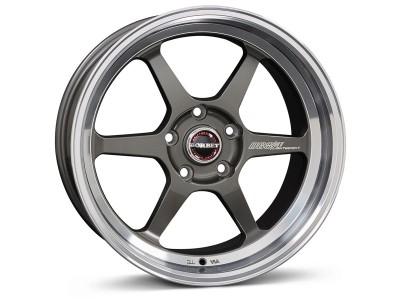 Borbet Sports DB8GT Graphite Rim Polished Wheel