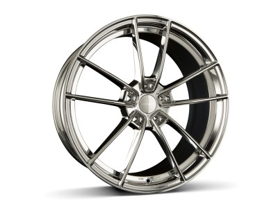 Borbet Sports FF1 Stainless Polished Wheel