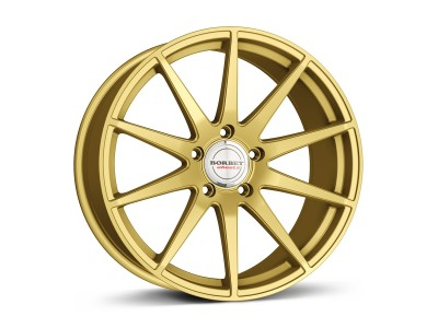 Borbet Sports GTX Gold Matt Wheel