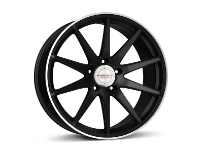 Borbet Sports GTX Janta Black Rim Polished Matt