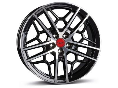 Borbet Sports GTY Black Rim Polished Glossy Wheel