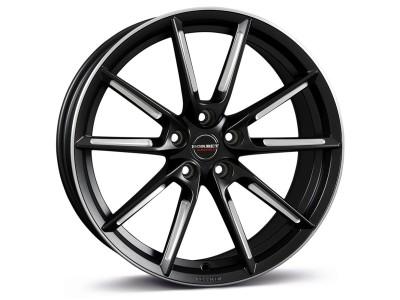 Borbet Sports LX Black Matt Spoke Rim Polished Wheel