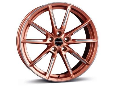 Borbet Sports LX Copper Matt Spoke Rim Polished Wheel