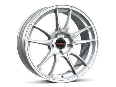 Borbet Sports MC Brilliant Silver Wheel