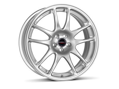 Borbet Sports RS Brilliant Silver Felge