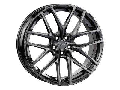 Breyton Hibonit Matt Black Wheel