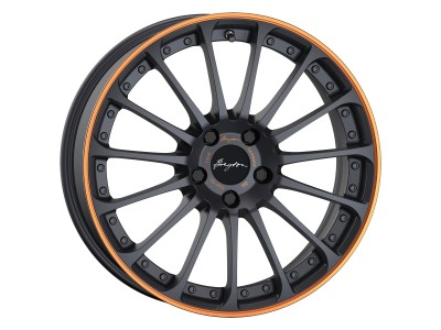Breyton Magic CW Matt Grey Orange Anodize Lip Wheel