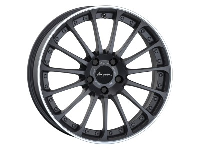 Breyton Magic CW Matt Grey Polished Wheel