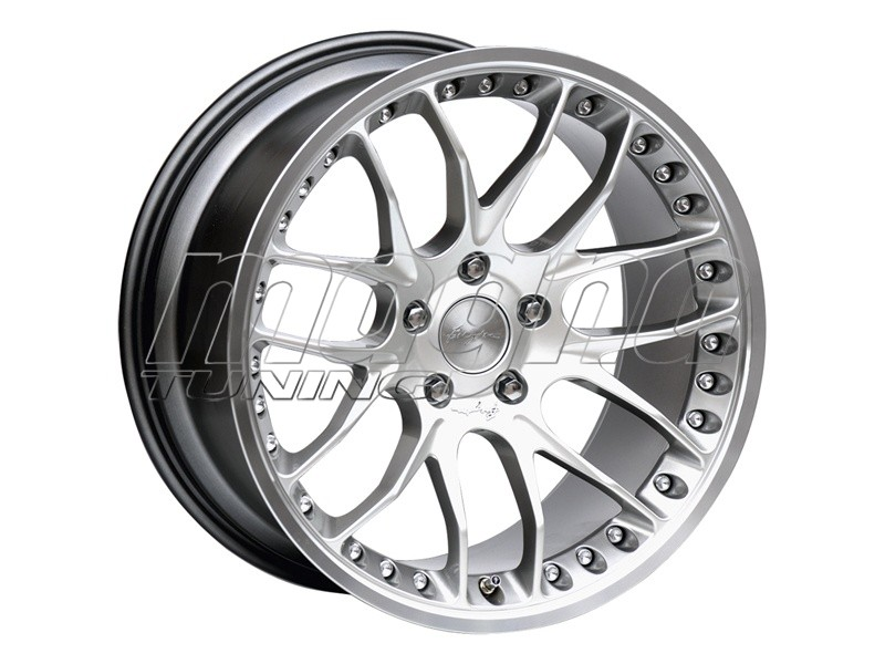 Breyton Race GTP Hyper Silver Felge