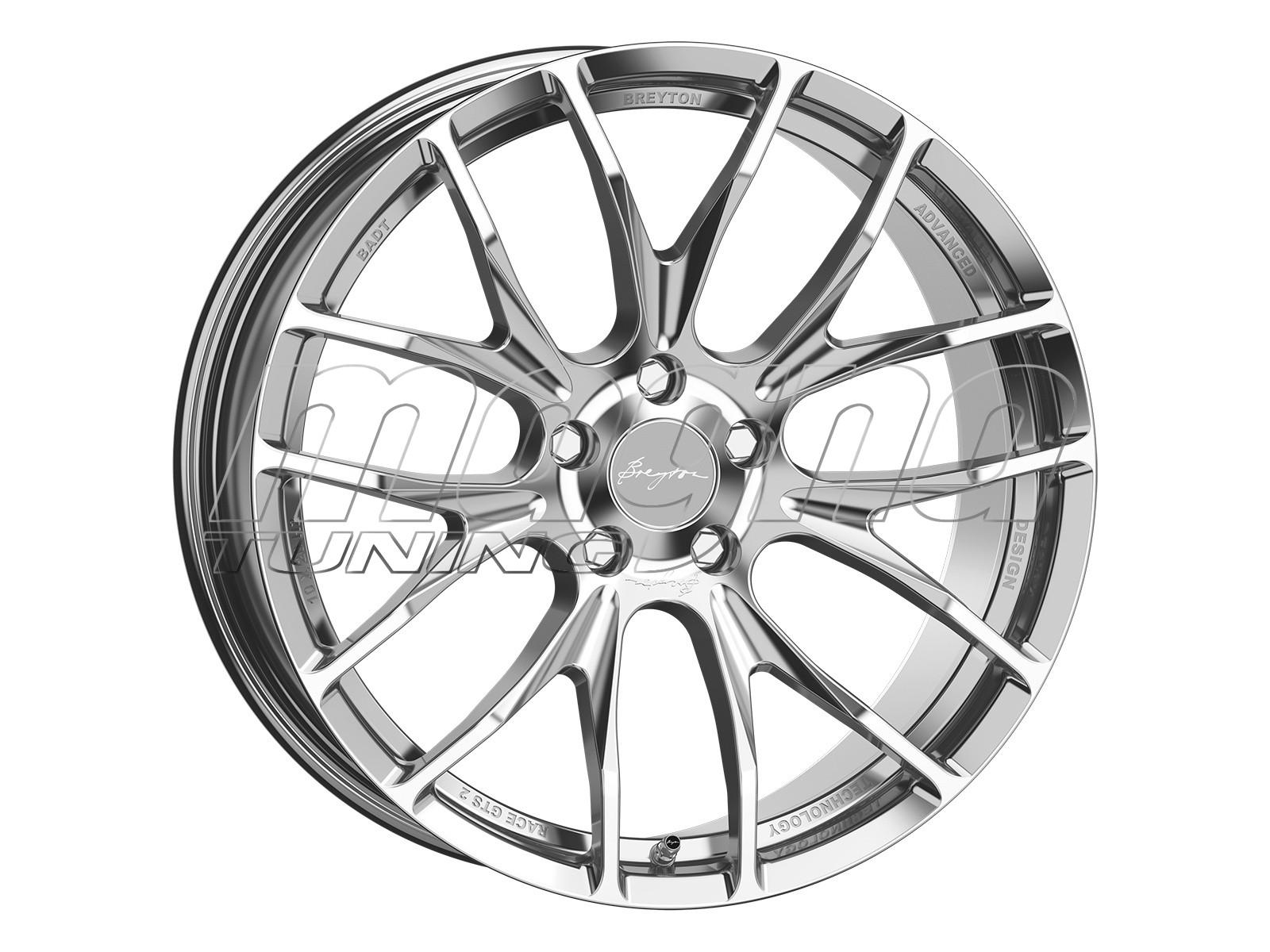 Breyton Race GTS 2 Hyper Silver Felge