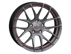 Breyton Race GTS-R Matt Gun Red Undercut Felge 17x7 4x100 ET40, 48 PROMO
